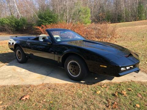 1983 Pontiac Firebird for sale at Cella  Motors LLC in Auburn NH