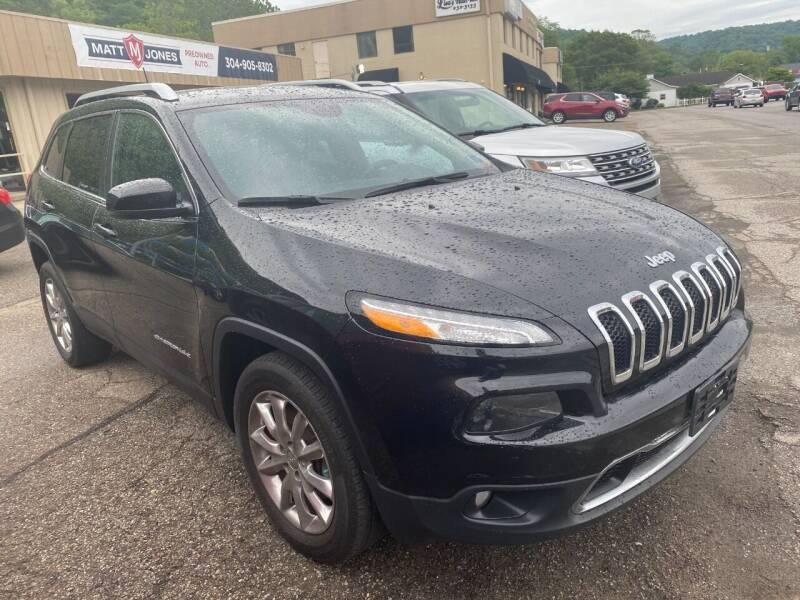 2016 Jeep Cherokee for sale at Matt Jones Preowned Auto in Wheeling WV