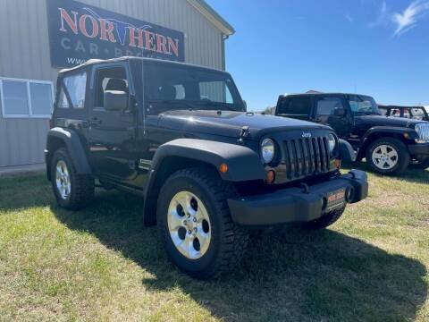 2013 Jeep Wrangler for sale at Northern Car Brokers in Belle Fourche SD