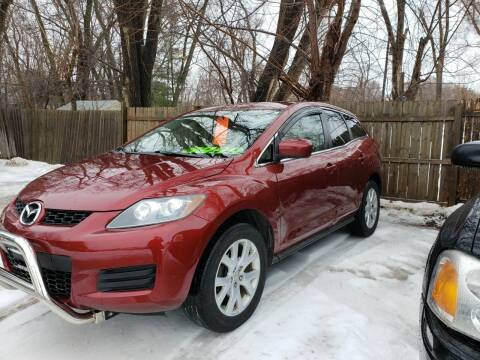 2007 Mazda CX-7 for sale at Northwoods Auto & Truck Sales in Machesney Park IL