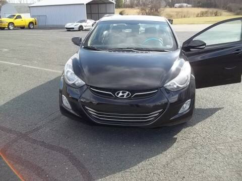 2013 Hyundai Elantra for sale at Gilliam Motors Inc in Dillwyn VA