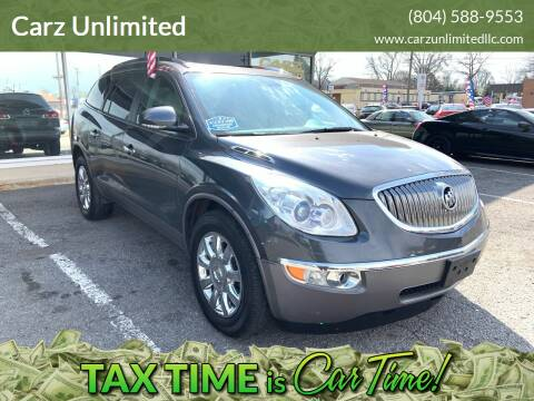 2011 Buick Enclave for sale at Carz Unlimited in Richmond VA