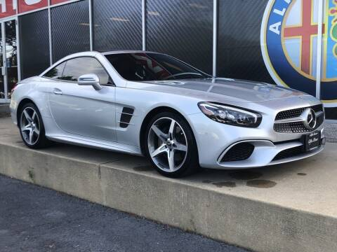 2017 Mercedes-Benz SL-Class for sale at Alfa Romeo & Fiat of Strongsville in Strongsville OH