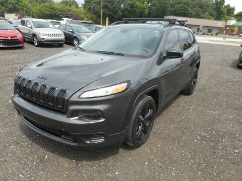 2017 Jeep Cherokee for sale at Auto Center Elite Vehicles LLC in Spartanburg SC