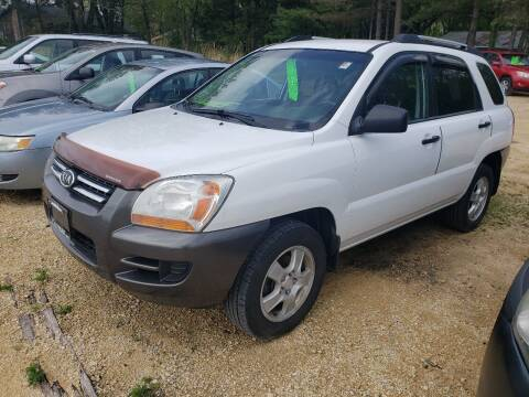 2007 Kia Sportage for sale at Northwoods Auto & Truck Sales in Machesney Park IL