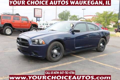 2013 Dodge Charger for sale at Your Choice Autos - Waukegan in Waukegan IL