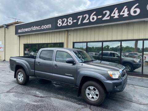 2013 Toyota Tacoma for sale at AutoWorld of Lenoir in Lenoir NC
