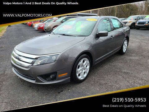 2010 Ford Fusion for sale at Valpo Motors 1 and 2  Best Deals On Quality Wheels in Valparaiso IN