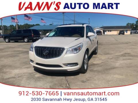 2015 Buick Enclave for sale at VANN'S AUTO MART in Jesup GA