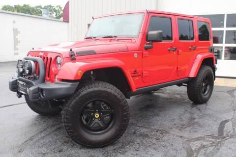 2015 Jeep Wrangler Unlimited for sale at Platinum Motors LLC in Reynoldsburg OH