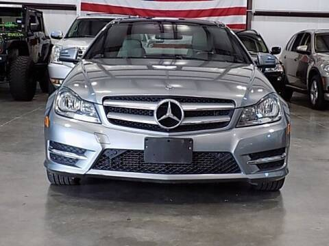 2012 Mercedes-Benz C-Class for sale at Texas Motor Sport in Houston TX