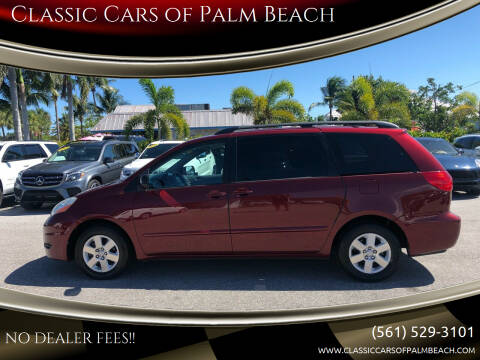 2009 Toyota Sienna for sale at Classic Cars of Palm Beach in Jupiter FL