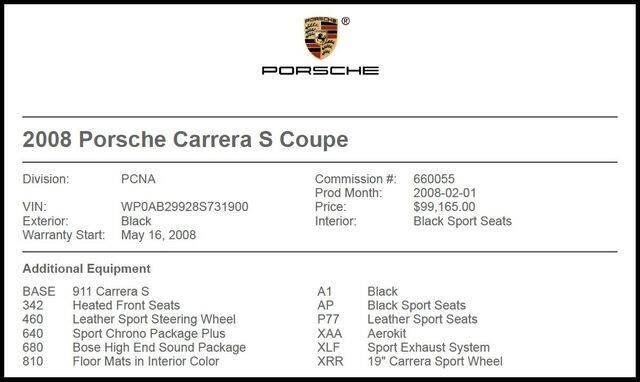 2008 Porsche 911 for sale at RAC Performance in Carrollton TX