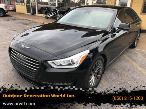 2017 Genesis G90 for sale at Outdoor Recreation World Inc. in Panama City FL
