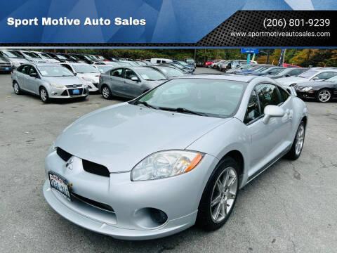 2008 Mitsubishi Eclipse for sale at Sport Motive Auto Sales in Seattle WA