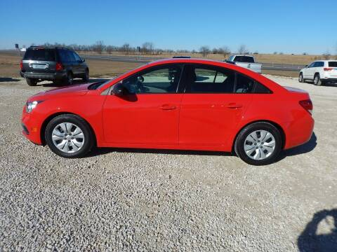 2015 Chevrolet Cruze for sale at All Terrain Sales in Eugene MO