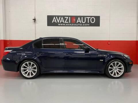 2008 BMW M5 for sale at AVAZI AUTO GROUP LLC in Gaithersburg MD