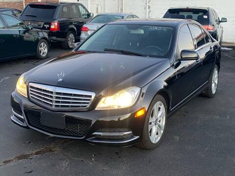 2014 Mercedes-Benz C-Class for sale at MAGIC AUTO SALES in Little Ferry NJ