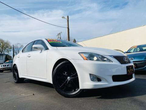 2010 Lexus IS 250 for sale at Alpha AutoSports in Roseville CA