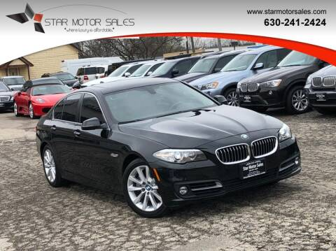 2016 BMW 5 Series for sale at Star Motor Sales in Downers Grove IL