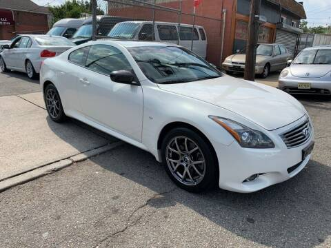 2014 Infiniti Q60 Coupe for sale at United Auto Sales of Newark in Newark NJ