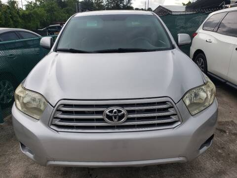 2008 Toyota Highlander for sale at Track One Auto Sales in Orlando FL
