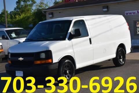 2012 Chevrolet Express Cargo for sale at MANASSAS AUTO TRUCK in Manassas VA