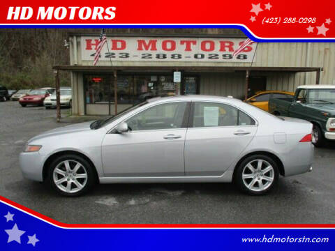 2005 Acura TSX for sale at HD MOTORS in Kingsport TN