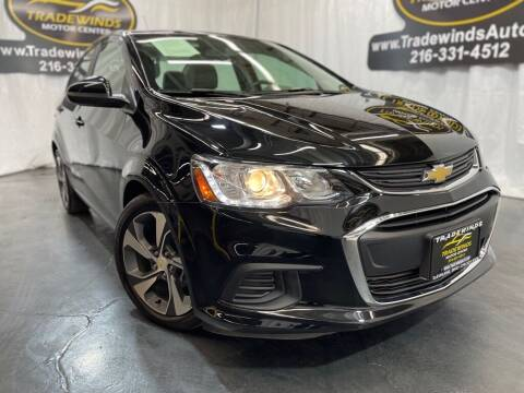 2020 Chevrolet Sonic for sale at TRADEWINDS MOTOR CENTER LLC in Cleveland OH