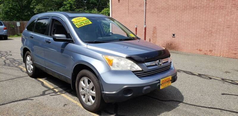 2007 Honda CR-V for sale at Exxcel Auto Sales in Ashland MA
