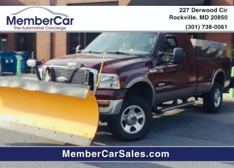 2005 Ford F-350 Super Duty for sale at MemberCar in Rockville MD