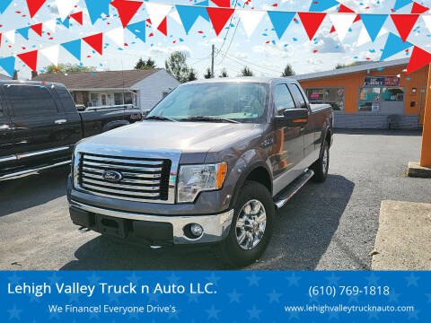 2012 Ford F-150 for sale at Lehigh Valley Truck n Auto LLC. in Schnecksville PA
