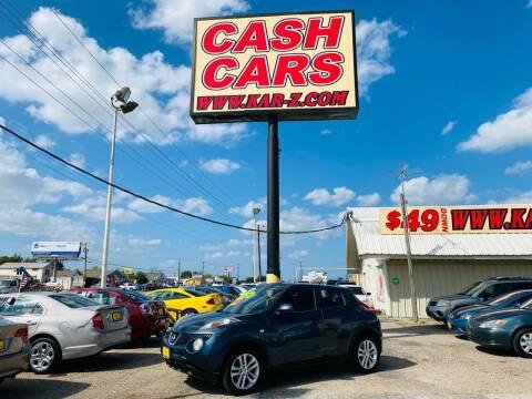 2014 Nissan JUKE for sale at www.CashKarz.com in Dallas TX