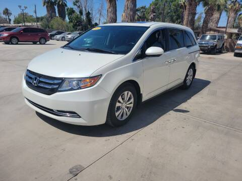 2016 Honda Odyssey for sale at A AND A AUTO SALES in Gadsden AZ