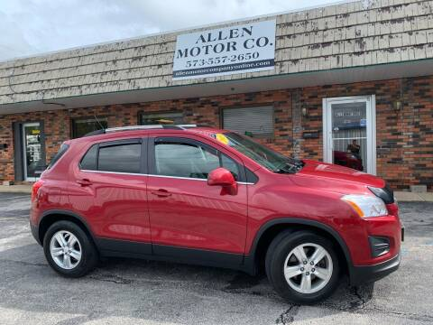 2015 Chevrolet Trax for sale at Allen Motor Company in Eldon MO