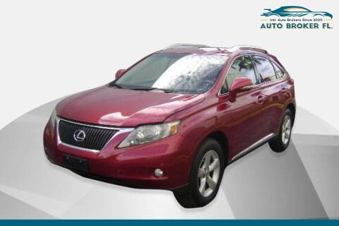 2012 Lexus RX 350 for sale at INTERNATIONAL AUTO BROKERS INC in Hollywood FL