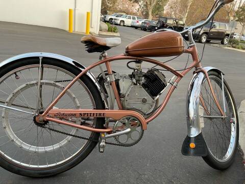 1950 Schwinn Whizzer Spitfire for sale at HIGH-LINE MOTOR SPORTS in Brea CA