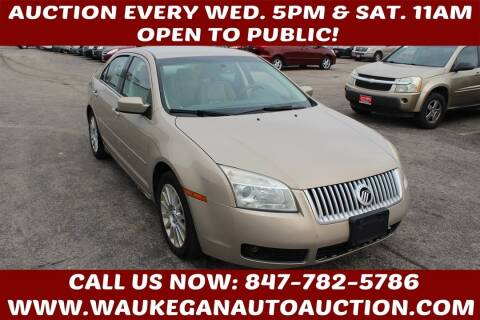 2006 Mercury Milan for sale at Waukegan Auto Auction in Waukegan IL