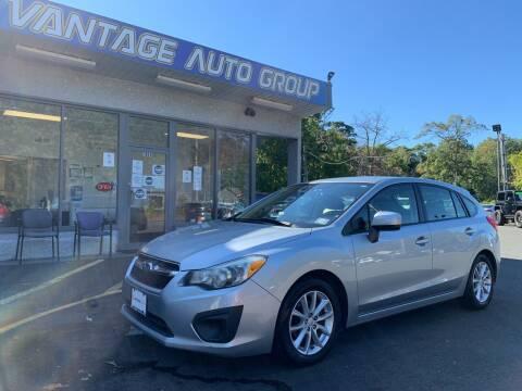 2012 Subaru Impreza for sale at Vantage Auto Group in Brick NJ