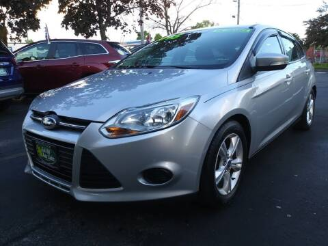 2014 Ford Focus for sale at Oak Hill Auto Sales of Wooster, LLC in Wooster OH
