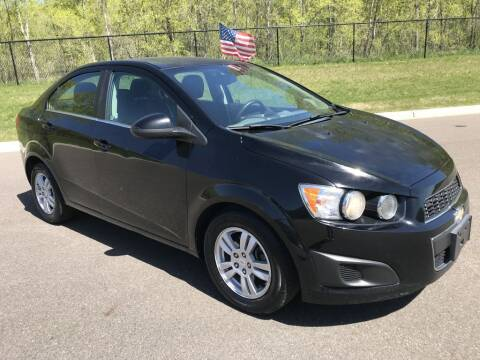 2012 Chevrolet Sonic for sale at Angies Auto Sales LLC in Newport MN