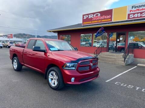 2014 RAM Ram Pickup 1500 for sale at Pro Motors in Roseburg OR