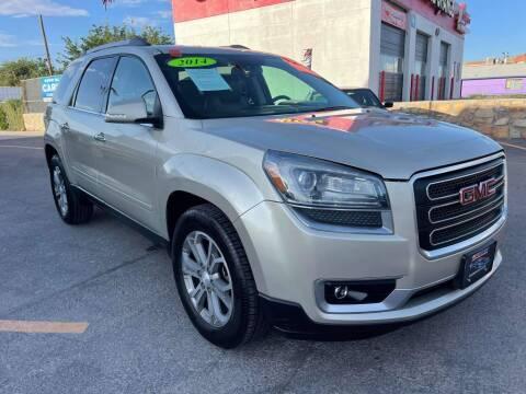 2014 GMC Acadia for sale at VIVASTREET AUTO SALES LLC - VivaStreet Auto Sales in Socorro TX