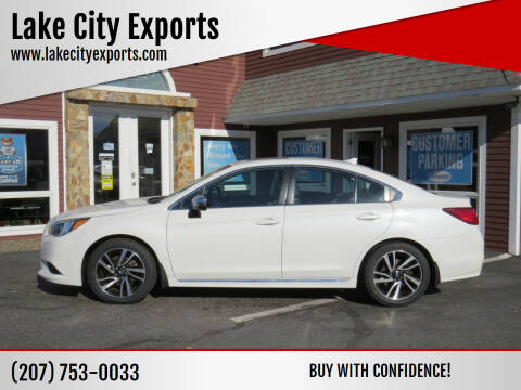 2017 Subaru Legacy for sale at Lake City Exports in Auburn ME