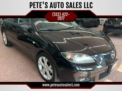 2008 Mazda MAZDA3 for sale at PETE'S AUTO SALES LLC - Middletown in Middletown OH