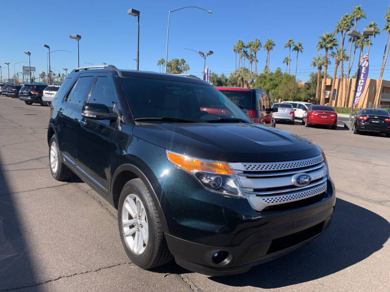 2015 Ford Explorer for sale at Ideal Cars Broadway in Mesa AZ