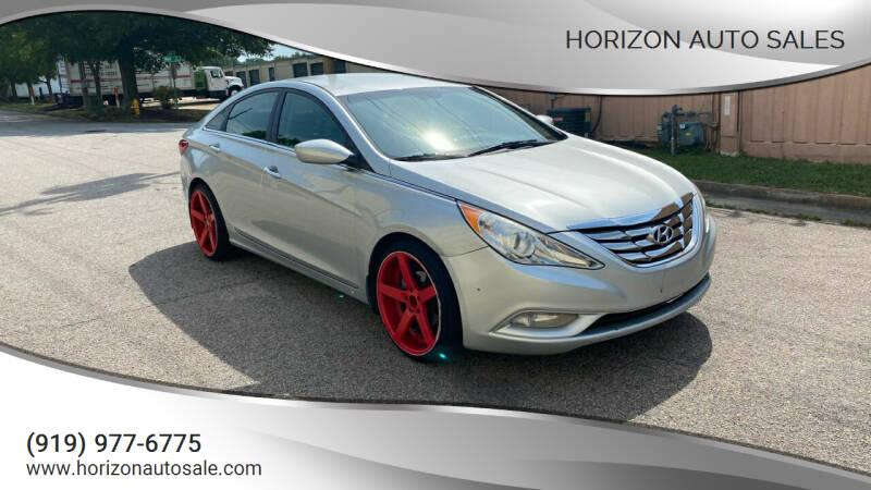 2013 Hyundai Sonata for sale at Horizon Auto Sales in Raleigh NC