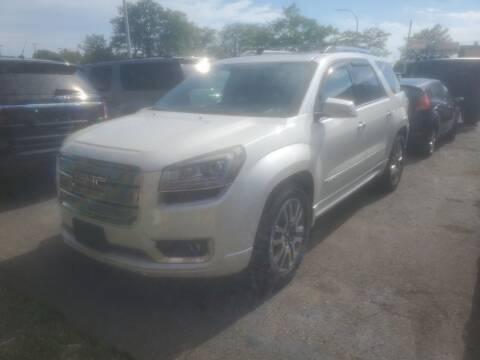 2013 GMC Acadia for sale at J & J Used Cars inc in Wayne MI