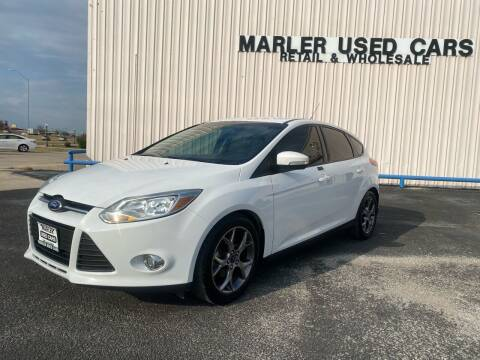2014 Ford Focus for sale at MARLER USED CARS in Gainesville TX