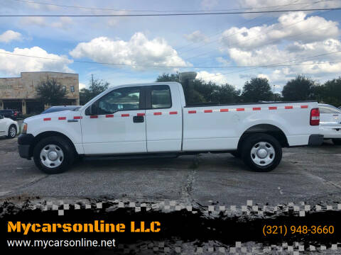 2007 Ford F-150 for sale at Mycarsonline LLC in Sanford FL